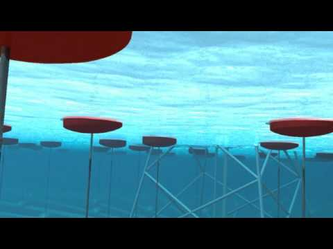 AquaGen SurgeDrive Wave Energy Animation Video - YouTube - ocean waves animations
