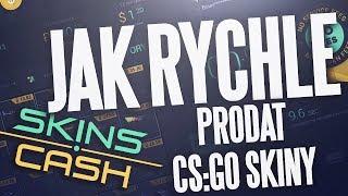 Jak instantně prodat CS:GO skiny [skins.cash]