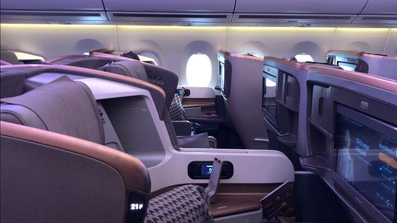 Singapore Airlines A350 900 Business