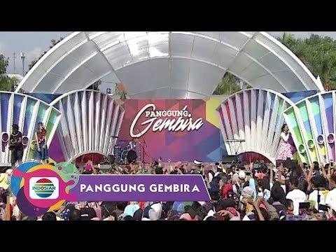 GARUT KOMPAK!! Semua Ikutin Jirayut Goyang Abc Dance - Panggung Gembira Garut