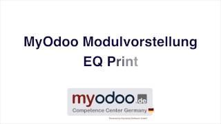 MyOdoo Modul EQ Print