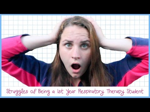 Struggles of Being a 1st Year Respiratory Therapy Major | Allie's RT Life