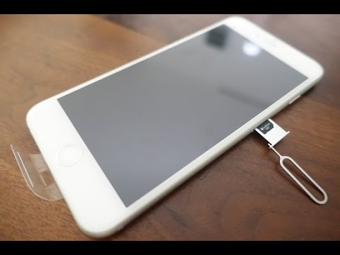 Apple : Insert a USIM Card into the iPhone 6s Plus 128GB (SoftBank)