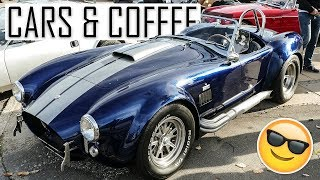 Classic Cars Leaving A Cars And Coffee Show With Style!