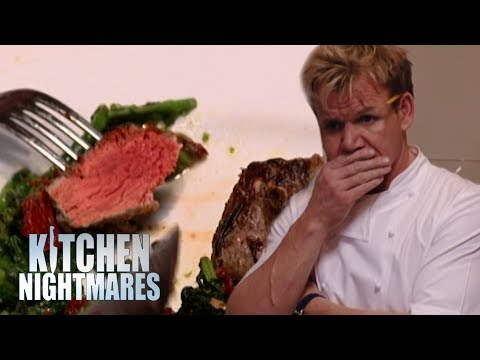 Volatile Owner Tears into Customer Over Microwaved Lamb | Kitchen Nightmares