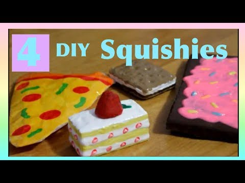 How to make squishies at home without memory foam