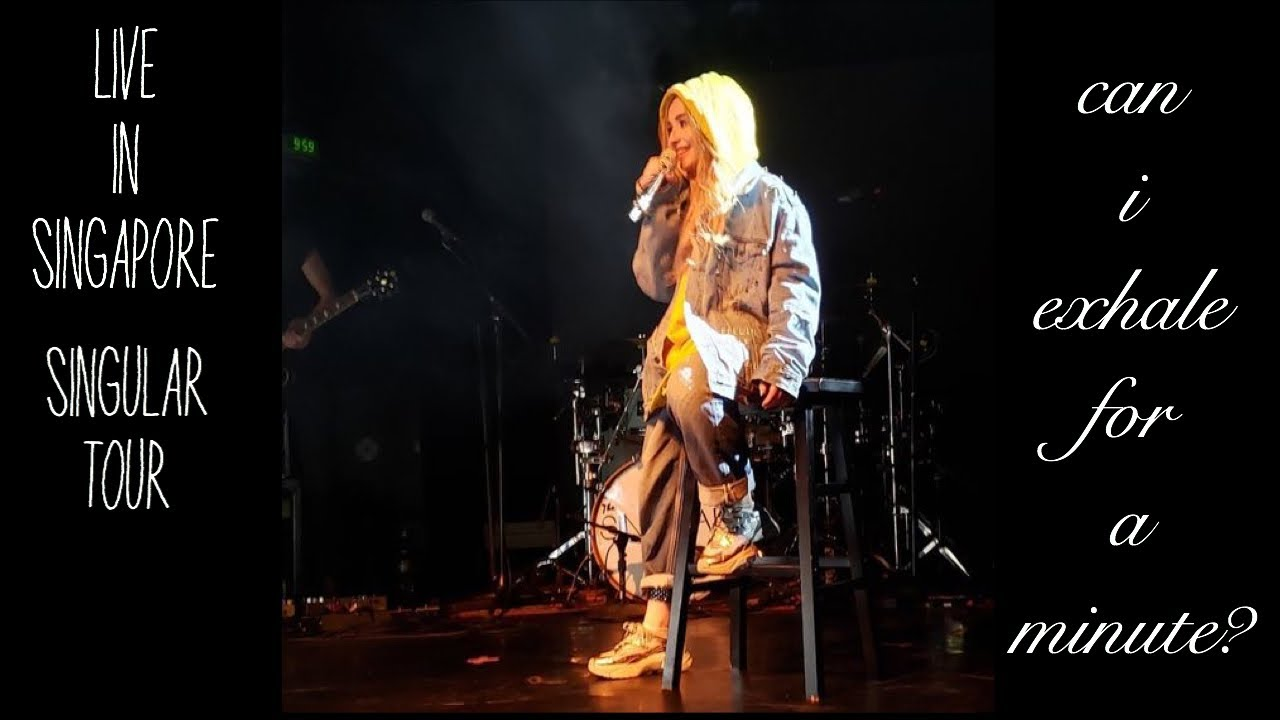 Exhale - Sabrina Carpenter (Live in Singular Tour Singapore)