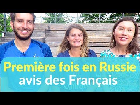 Premier voyage en Russie des Français