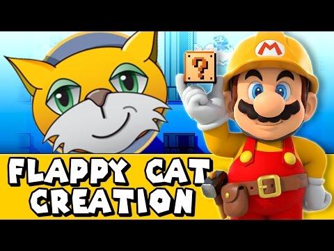 Super Mario Maker: Flappy Cat (Creation #1)