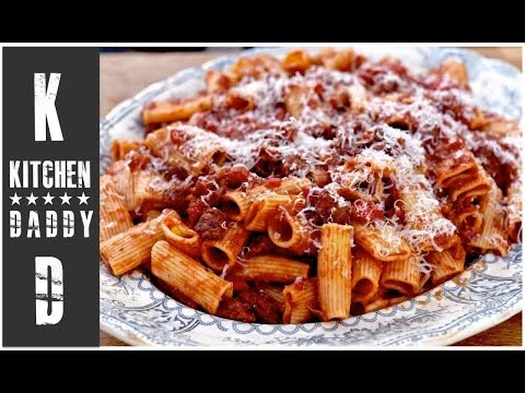 Italian Sausage Rigatoni | Kitchen Daddy