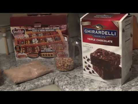 GHIRARDELLI TRIPLE CHOCOLATE BROWNIS