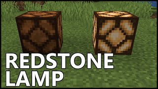 How To Use Redstone Lamps In Minecraft Youtube