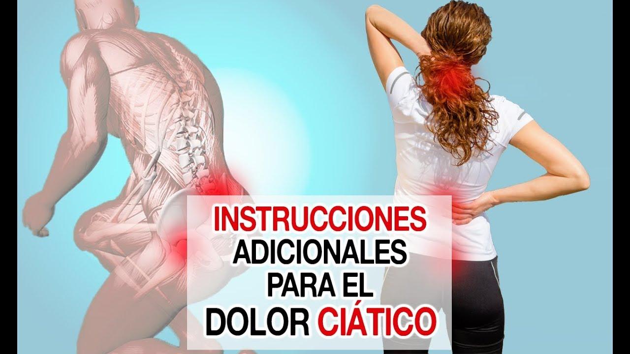 como sanar el dolor de ciatica