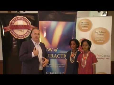 2010 - Michael Losier's 2nd Interview with Law of Attraction twins, Kuala Lumpur, Malaysia