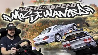 ДИКИЕ ПОЛИЦЕЙСКИЕ В Need for Speed Most Wanted
