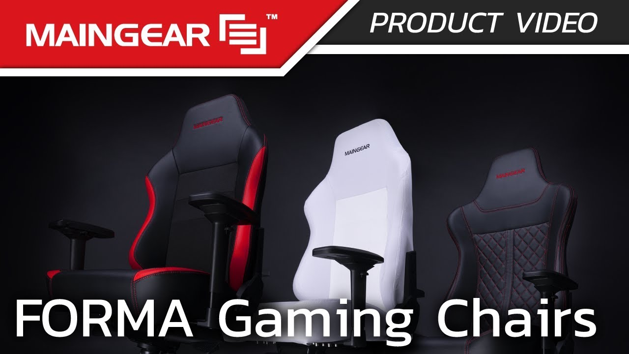 Video Chair Maingear Forma Gaming Chairs Product Video