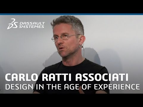 The City of Tomorrow : Senseable Mobility - Carlo Ratti@ Design in the Age of Experience 2018