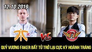 [CKTG 2019] FNC vs SKT Highlights   Quỷ vương bất tử Faker trở lại không thể hoành tráng hơn
