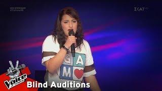 Γεωργία Μπουζίκα - Umbrella | 7o Blind Audition | The Voice of Greece