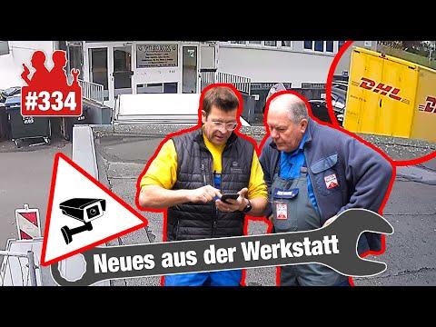 Kamera zeigt: DHL-Fahrer zerstört BMW-Heck! | Wieder 92 (!) Einträge im 5er-BMW-Fehlerspeicher!