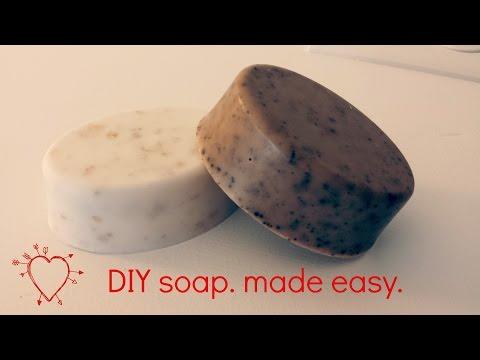 Vanilla Coffee Soap DIY Easy