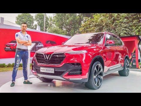 Soi kỹ chiếc VINFAST SUV Lux SA2.0 giá 1,136 tỷ ở Hà Nội - XEHAY