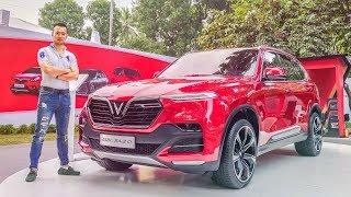 Soi kỹ chiếc VINFAST SUV Lux SA2.0 giá 1,136 tỷ tại Hà Nội - XEHAY