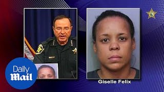Florida mother arrested for 'encouraging' daughter in street fight