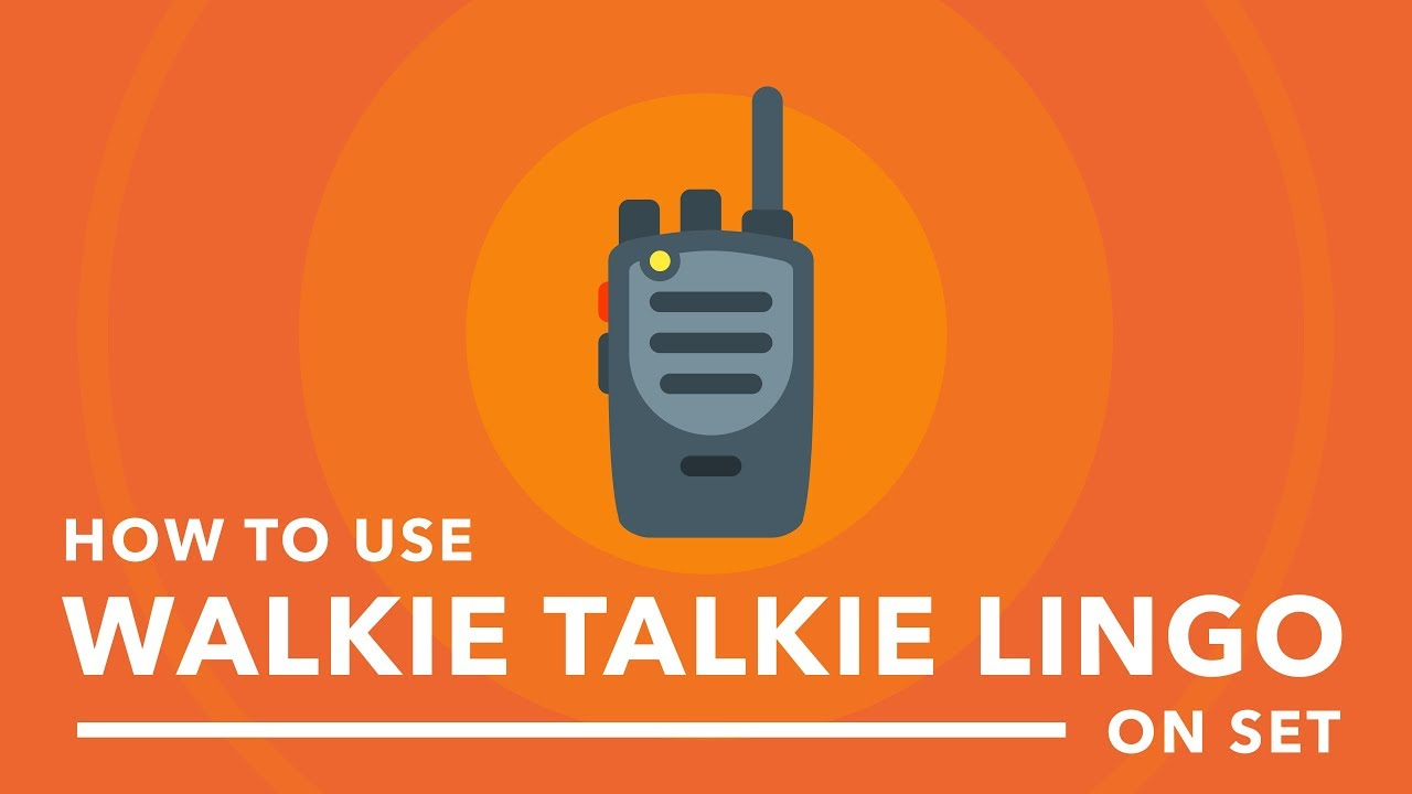 This Cheat Sheet Contains All the Walkie-Talkie Lingo You