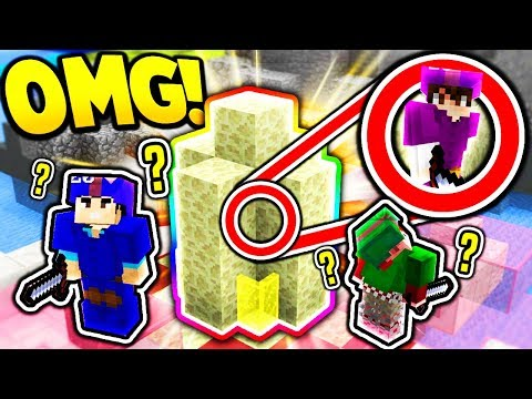 HIDING IN THE MOST OBVIOUS SPOT! *IT WORKED* Minecraft Bed Wars Trolling