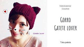 VIDEO-TUTORIAL Gorro a crochet