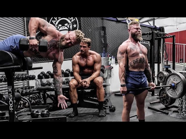 How to Train to Be More Athletic | Hybrid Workout with Fitness Model  | Phil Daru