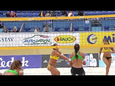 Brazil v Spain, 3rd round action