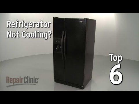 Top 6 Reasons Refrigerator Isn't Cooling?