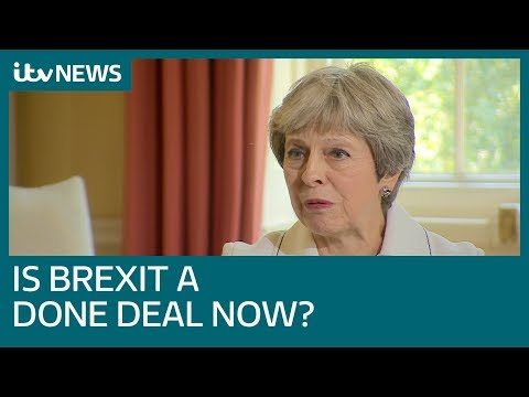 Theresa May tells ITV News: All ministers have to sell her Brexit plan