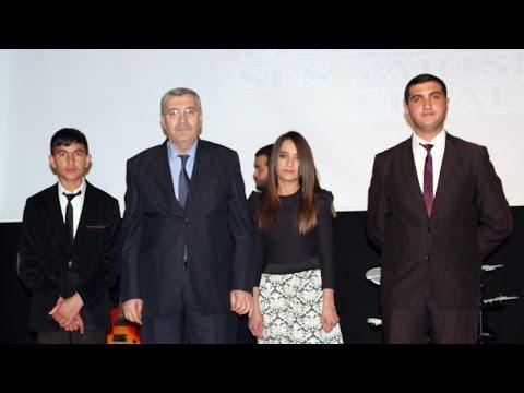 Ağrı'da Liselerarası Ses Yarışması -...