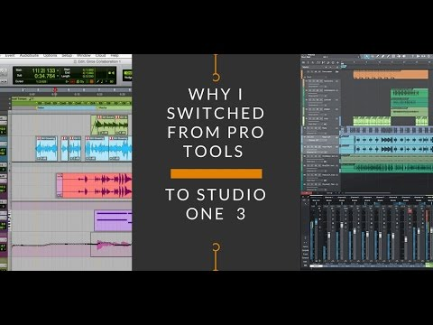 Why I Switched from Pro Tools to Studio One 3