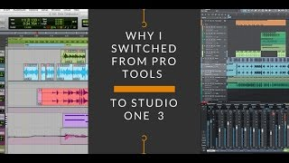 Why I Switched from Pro Tools to Studio One