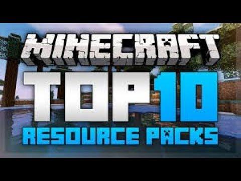 Top 10 Minecraft Resource Packs Minecraft 1 12 1 11 2   2017 HD