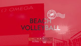 OMEGA at Rio 2016 - Beach Volleyball timekeeping