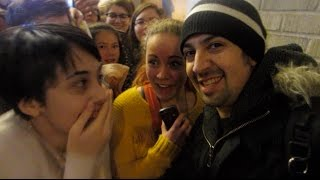 Meeting Lin Manuel and the Hamilton Cast! ⎢NYC 2016