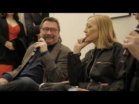 Sprechsaal Interviews, Blixa Bargeld, Gudrun Gut, Wolfgang Rindfleisch, 28.04.2017.