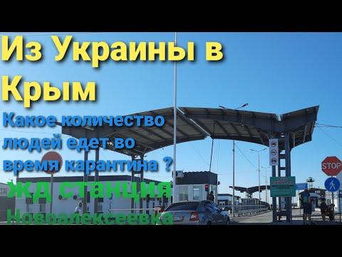 Какое количество людей едет в Крым во время карантина.  Расписание поездов ст. Новоалексеевка.