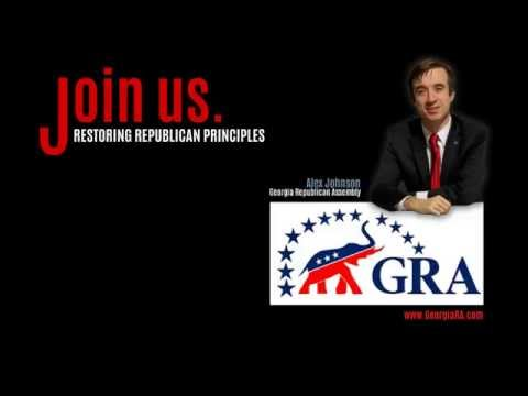 Alex Johnson Ramps up the Georgia Republican Assembly (GRA)