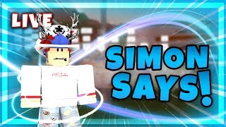 🔴 JAILBREAK SIMON SAYS | 6K SUBSCRIBERS | ROBLOX LIVE 🔴