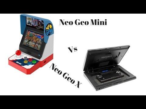 Neo Geo Mini Vs Neo Geo X
