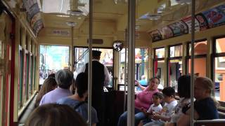 A Ride Up Buena Vista Street on DCA's Red Car Trolley