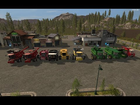 Farming Simulator 17 Mod Spotlight :: American Combines! Big and Small!