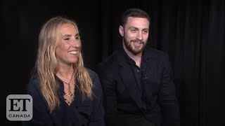 Sam and Aaron Taylor-Johnson Talk 'A Million Little Pieces'