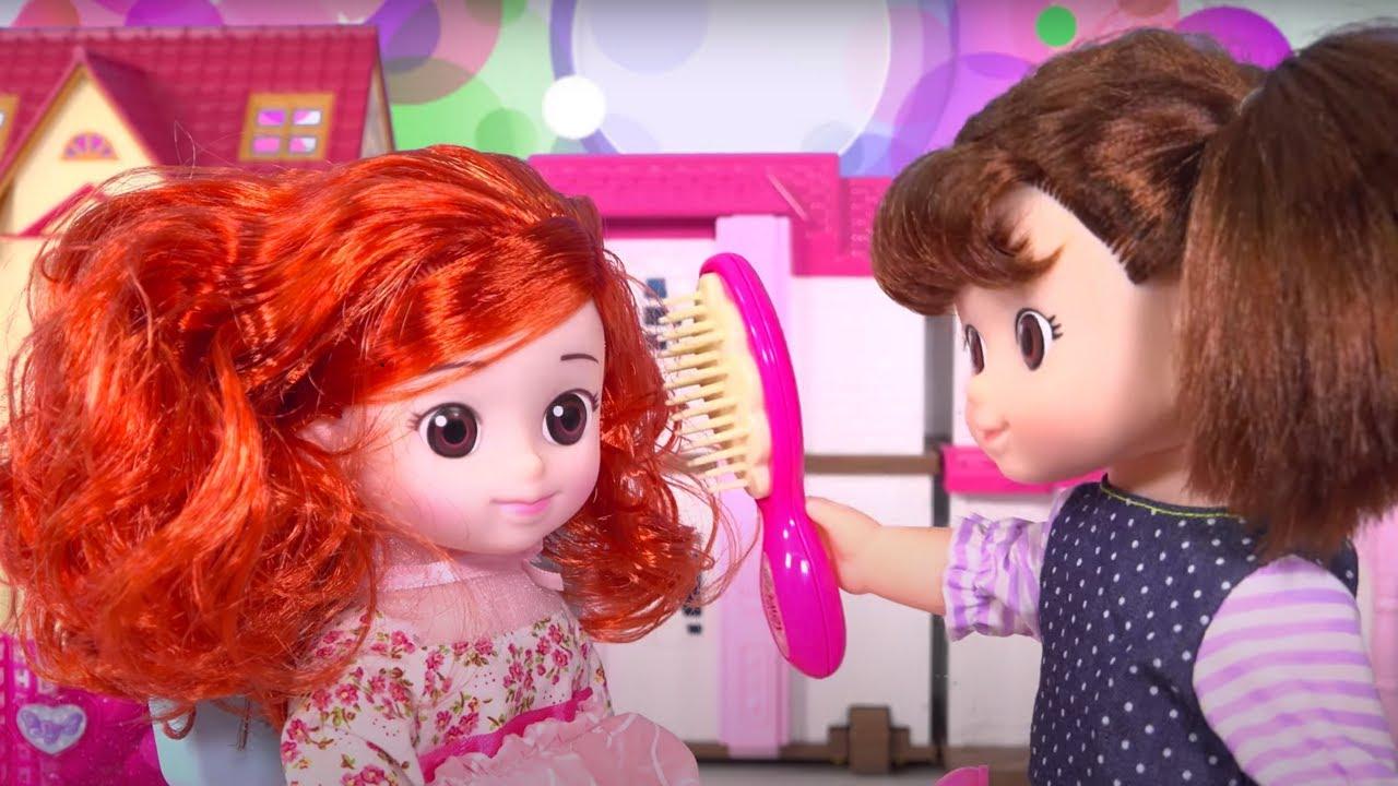 Mainan Anak Perempuan Barbie Main Salon Salonan Potong ...